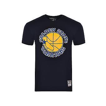 Mitchell & Ness Golden State Warriors MNHWCINTL674GOLWARBLK universal all year men t-shirt