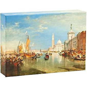 Notcards  Venice By Turner Fliptop Notecard Box