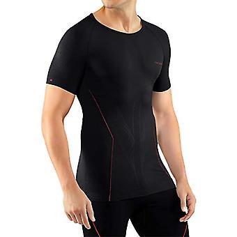 Falke - Tight-fitting Warm Men's Underwear, Size M S/S Sh, Men', Underwear, 39613, Black (Black-Fuego), M