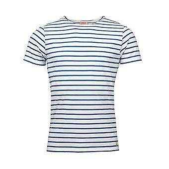 Armor Lux Marini King Ho Dic Heritage Homme T-Shirt, Blanc/Ozero, 3XL Men