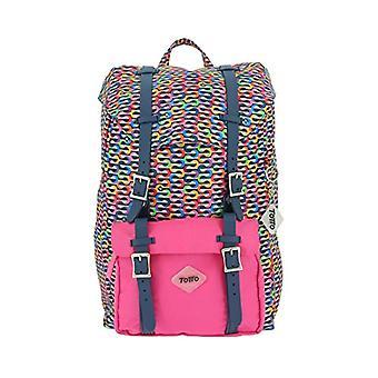 TOTTO Backpack, heel, Multicolor