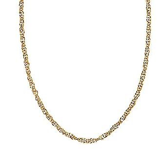 NOELANI Women's Necklace in Sterling 925 Gold Plated Silver