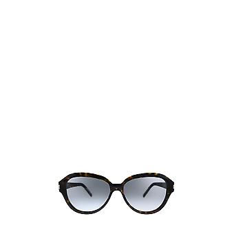 Saint Laurent SL 400 dark havana female sunglasses
