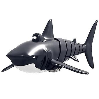 Simulation Shark Boat with Light Effects Underwater Game Toys|RC Animals