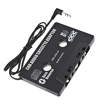 Aux Car Audio Cassette Tape Adapter Transmitters For Mp3 Ipod Cd Md I-phone