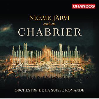 Emmanuel Chabrier - Neeme J Rvi voert Chabrier [SACD] USA import