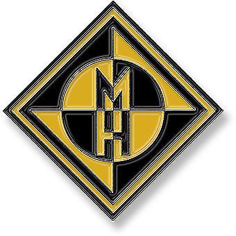 Machine Head - odznak pinu s diamantovým logom