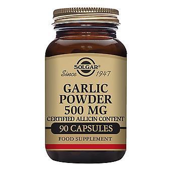 Hvidløg Pulver fra kontrollerede afgrøder Solgar 500 mg (90 kapsler)