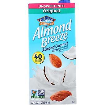 Blue Diamond Bev Almnd Ccnut Unswt Blnd, Case of 12 X 32 Oz