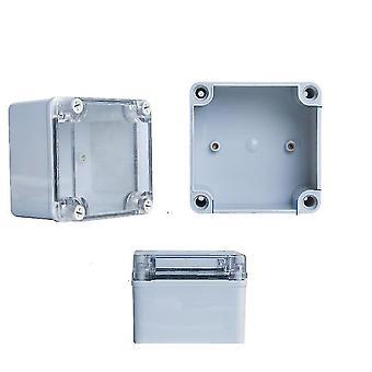 uusi 100x100x100mm ip67 vedenpitävä abs muovinen sähköliitäntärasia e sm36044