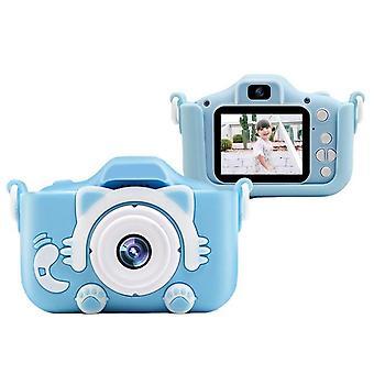Children's digital camera high-definition dual-lens camera for kids toys photo instant print camera birthday gift for girls boys