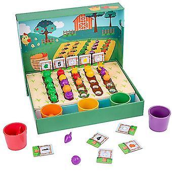 Montessori-opetuslelut lapsille Varhaisoppiminen Lapset Älykkyys Maatila Plantation Opetus