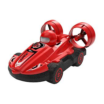 2 IN 1 RC Car Toy 15KM/H 2.4G Amphibious Drift Hovercraft Speed Boat