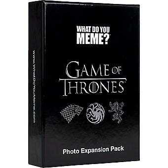 """Game Of Thrones Photo Expansion Pack For """"what Are You Meme""""? -designed To Be Added To """"what Are You Meme""""? Core Game"""