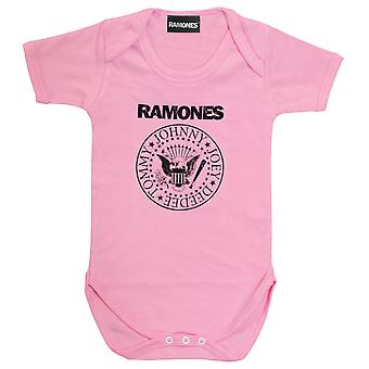 Ramones Seal Baby Girls Romper   Marchandises officielles