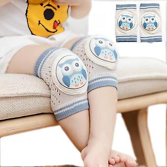 1 Pairs Baby Knee Pads For Crawling - Elastic Knee Elbow Pads Cushion