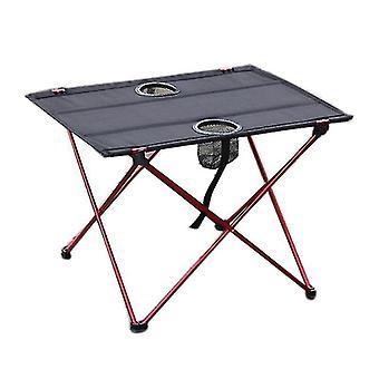Mesa de picnic al aire libre y silla set de aluminio aleación mesa plegable