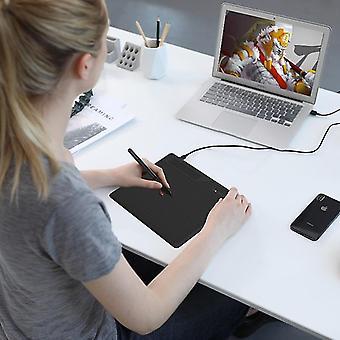 Grafiktabletts digitale Platine unterstützt Android-Handy Windows Mac OS-System Grafiktablett