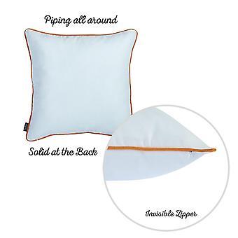 Pillowcases shams fall thanksgiving pie square throw pillow cover (set of 4) sm149006