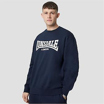 Lonsdale Heren Essentials Crewneck Sweatshirt Trui Pullover Casual Sport Top