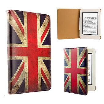 Housse Etui de livre Design pour Amazon Paperwhite E-Reader - Union Jack