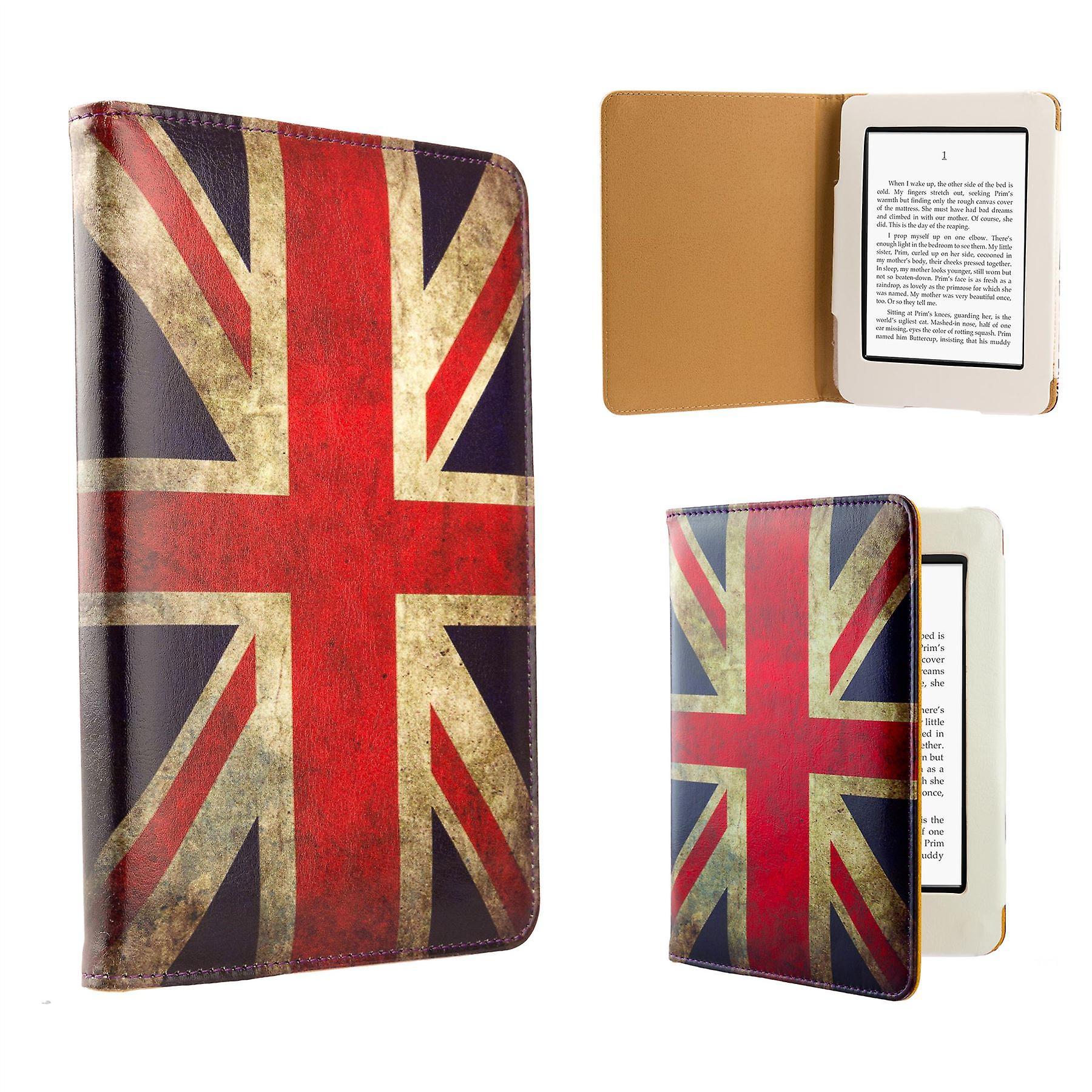 Design book case cover for Amazon Paperwhite E-Reader - Union Jack