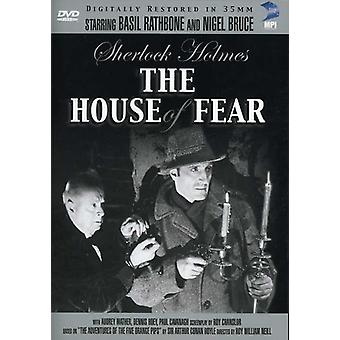 Basil Rathbone - Sherlock Holmes: House of Fear [DVD] USA import