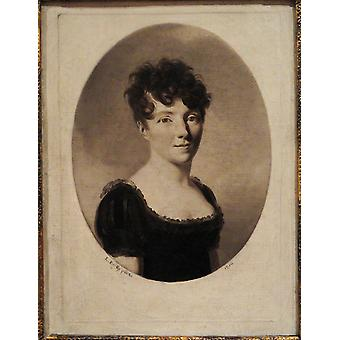 Louis Leopold Boilly - Portrait of a Woman Poster Print Giclee