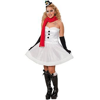 Women costumes  Snowman Christmas dress ladies