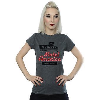 Amerikan Tanrıları Kadın's Motel Amerika Neon T-Shirt