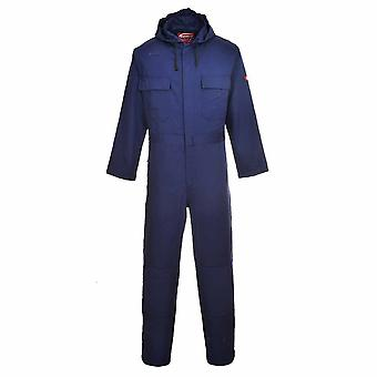 Portwest - Bizweld Flamme widerstehen Sicherheit Workwear Kapuzen Coverall Boilersuit