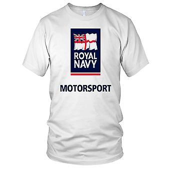 Royal Navy Motorsport store barna T skjorte