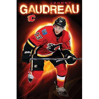 Calgary Flames - J Gaudreau 15 juliste Juliste Tulosta