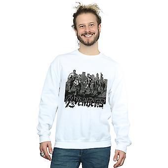 Marvel Men's Avengers Mono Team Art Sweatshirt