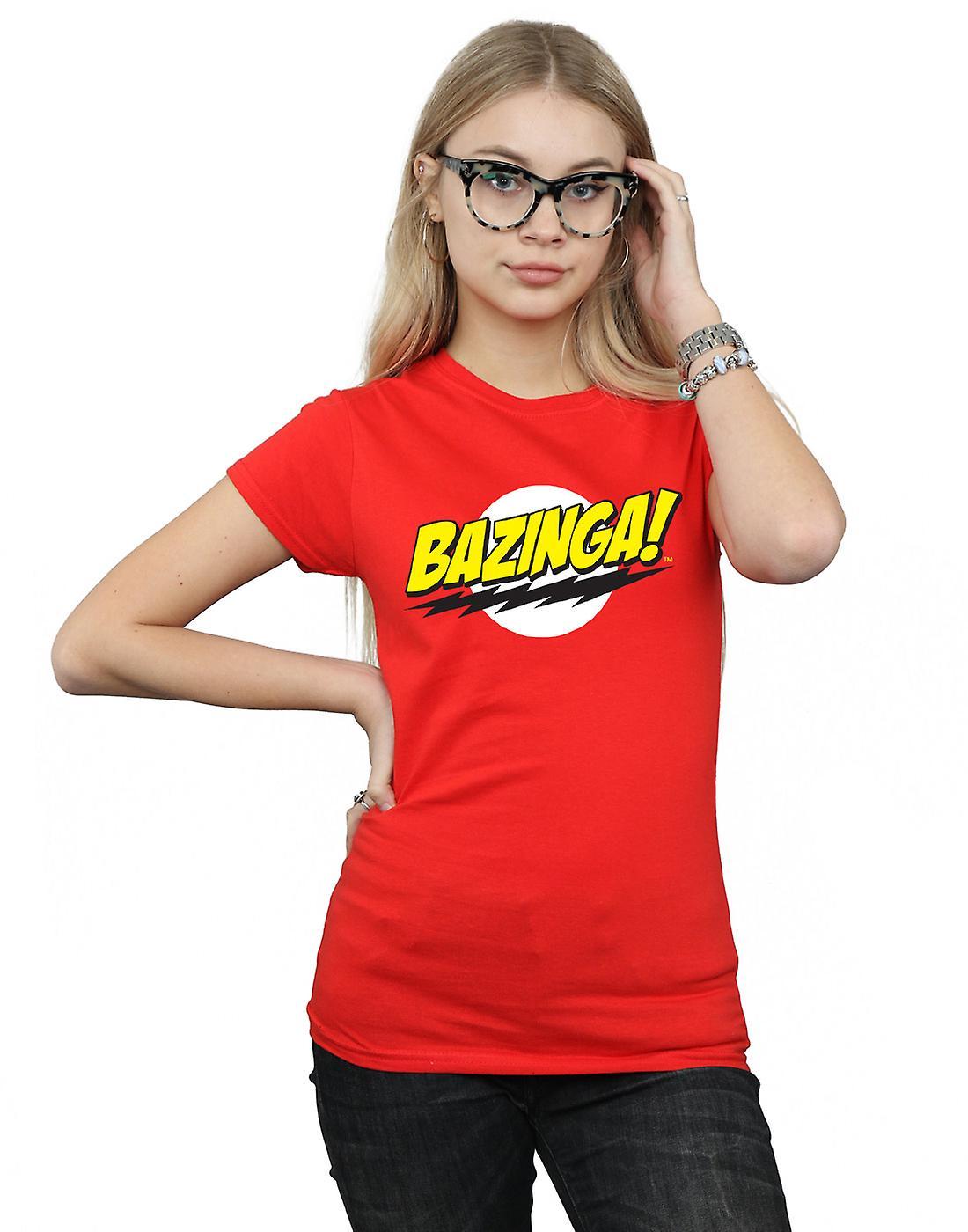 The Big Bang Theory Women's Sheldon Bazinga T Shirt | Fruugo NO