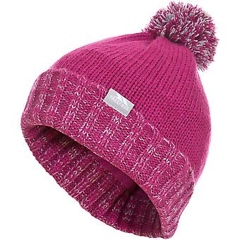 Trespass drenge & piger Nefti strikket Pom Pom Fleece foret Beanie Hat