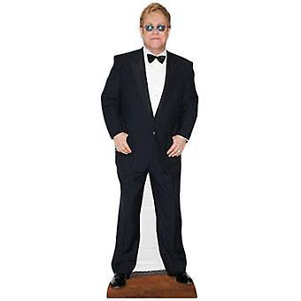 Elton John Lifesize kartong utklipp