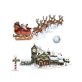 Santa's Sleigh & Workshop Props