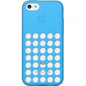 Apple MF035ZM/A silicone cover case, iPhone 5c blue