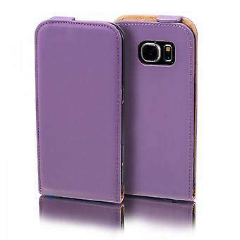 Capovolgere Pocket Deluxe viola per Samsung Galaxy S5 neo/case/custodia manica di SM G903F