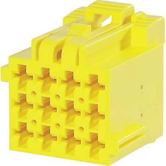 TE Connectivity Socket låda - kabel J-P-T totala antalet stift 12 kontakt avstånd: 5 mm 1-967622-1 1 dator