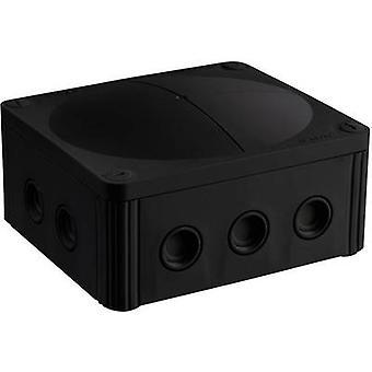 WiskaWet room junction box Combo 1210 branch box blank black IP66/IP67