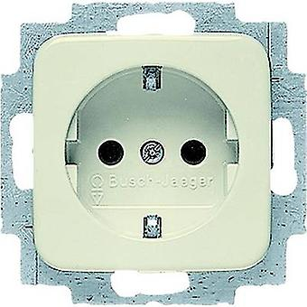 Busch-Jaeger invoegen PG socket Duro 2000 SI, Duro 2000 SI Linear crème-wit 20 EUC-212