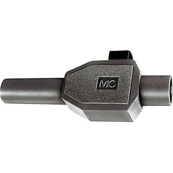 Stäubli SKLS4 SVHS pistoke, suoraan sokan halkaisija: 4 mm musta 1 PCs()