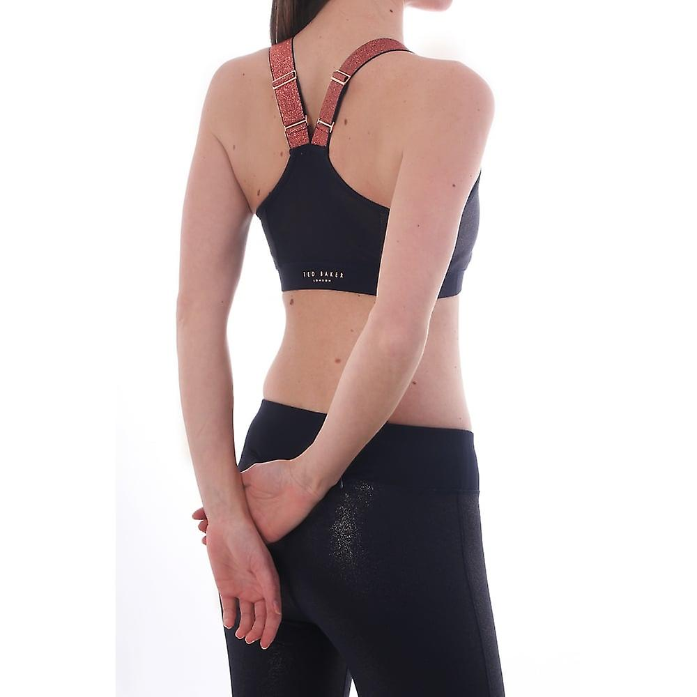 Ted Baker lounge & Activewear Fit To A T Jaklun Mesh Panel Sports Bra