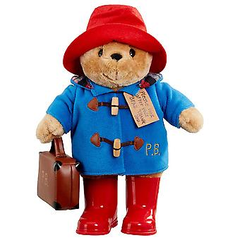 Rainbow Designs Large Classic Paddington Bear with Boots and Suitcase