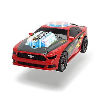 Dickie legetøj musik Racer legetøjsbil med motoriseret lyd og lys funktion