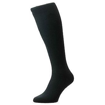 Pantherella Naish Tailored Merino Wool Over the Calf Socks - Racing Green