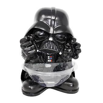 Soporte para recipiente caramelo mini Star Wars Darth Vader sostenedor del caramelo, plástico (con plato).