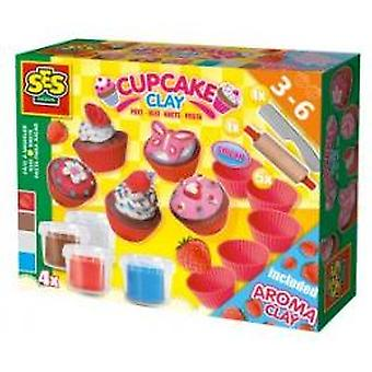 SES Superdough cupcakes
